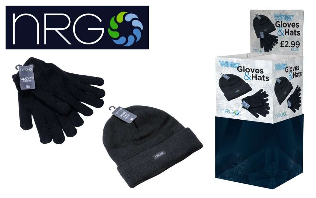 NRG Winter Hats & Gloves